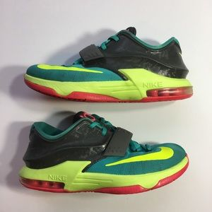 Nike KD VII GS Youth Size Sneakers Size 6Y